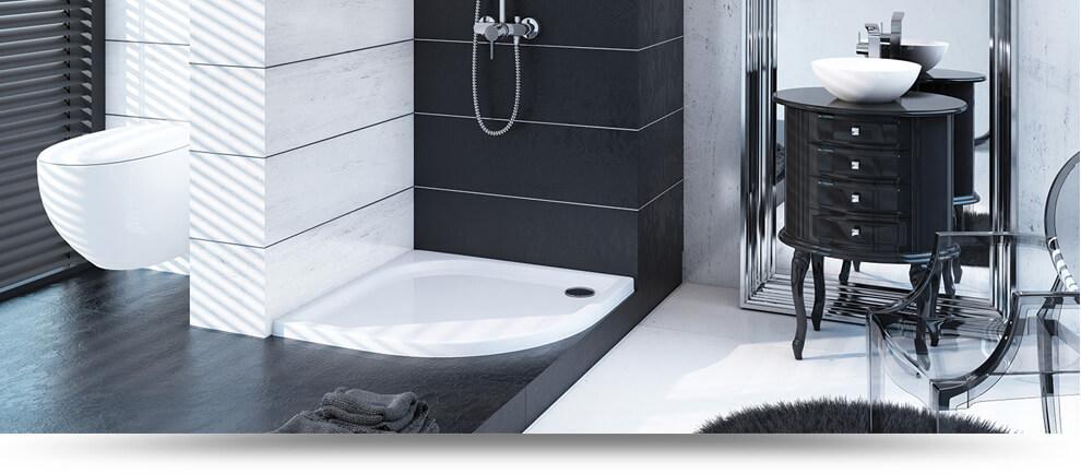 Sanitärbedarf  Badeinrichtung und Sanitärbedarf | Duschwannen